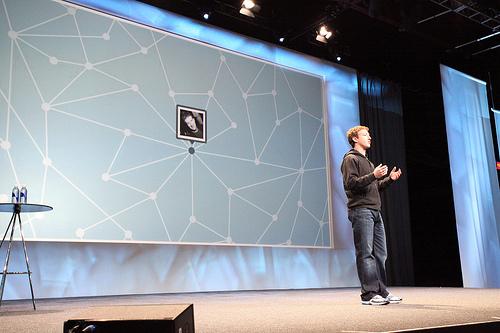 Mark Zuckerberg dans ses oeuvres