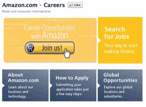 Amazon Recrutement Facebook