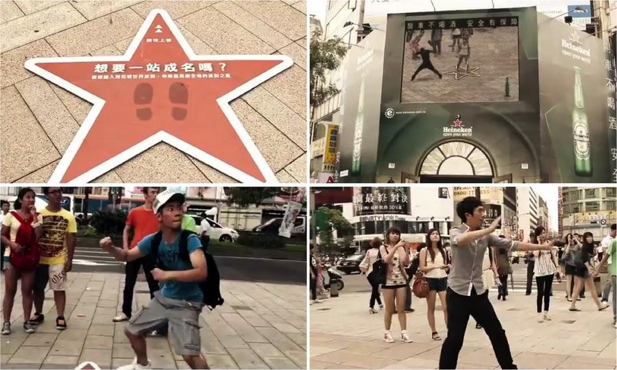Heineken réalité augmentée à Taiwan