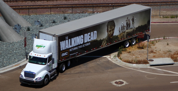 Camion Walking Dead Comicon 2012