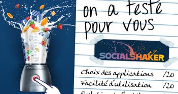 Test SocialShaker Applications facebook