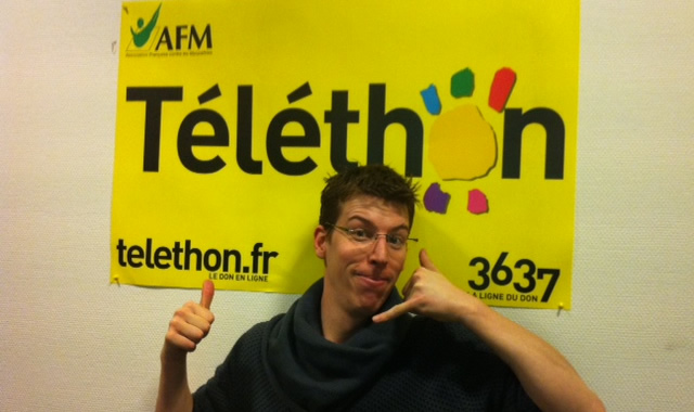 My Community Manager soutient le Téléthon