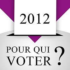 Illustration pour qui voter 2012