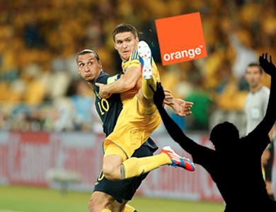 orange football partenariat