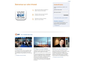 Intranet d'EDF