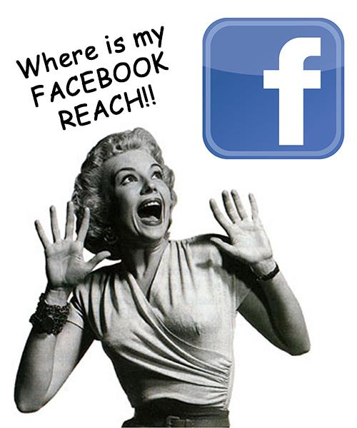Baisse reach Facebook