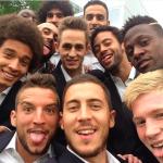 Selfie Equipe de Belgique