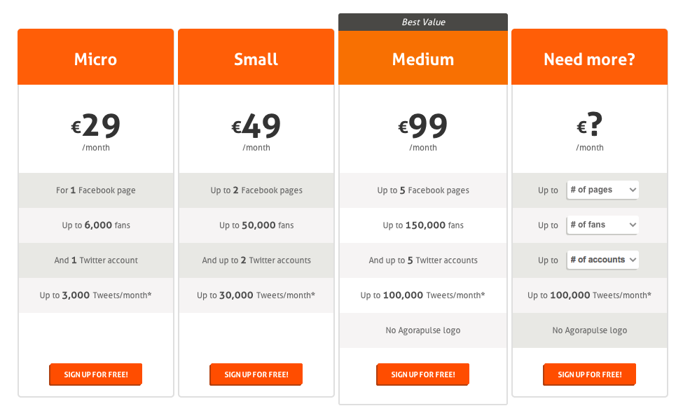 pricing-agorapulse