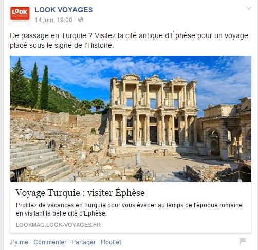 Look Voyages Facebook