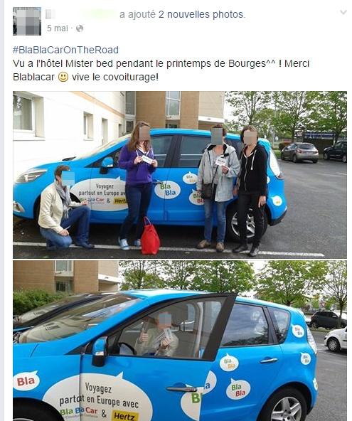 BlaBlaCar UGC
