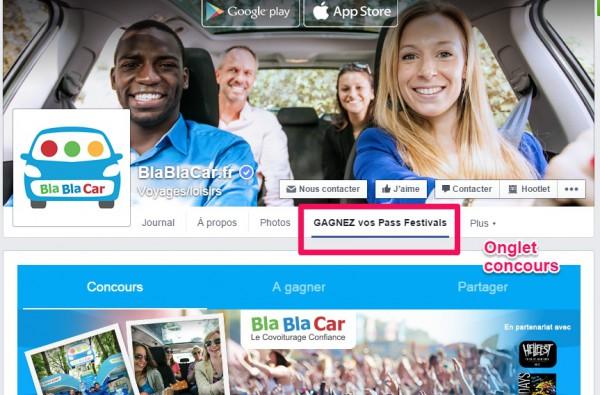 Concours BlaBlaCar