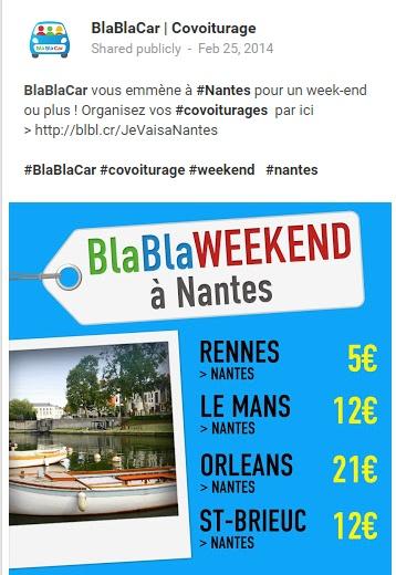 Google+ BlaBlaCar