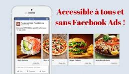 Le carrousel est disponible gratuitement pour toutes les pages Facebook