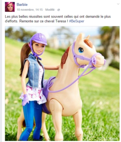 Barbie FB Be Super