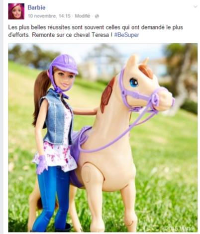 Barbie FB Be Super