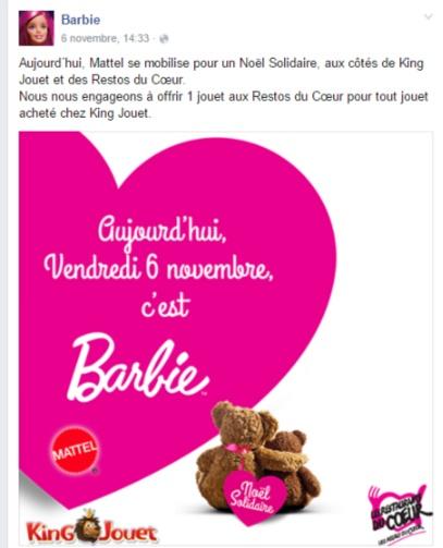 Barbie caritatif