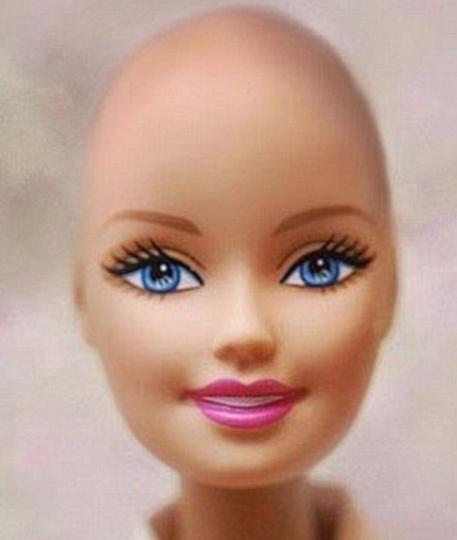 Barbie chauve