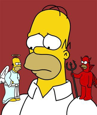 ange-diable-simpsons