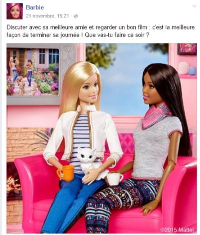 Barbie Facebook