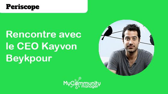 Periscope 3/3: Rencontre avec le CEO Kayvon Beykpour
