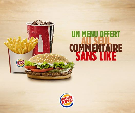 Burger King community management