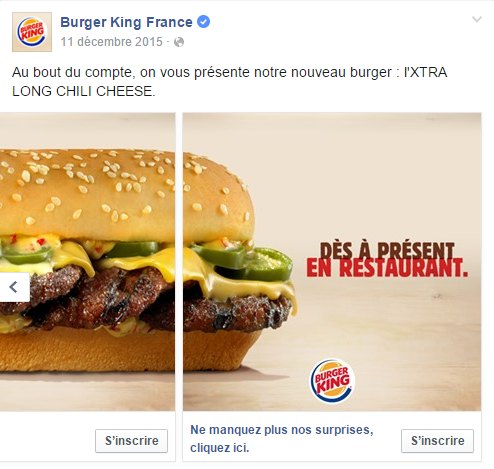 BK Facebook Carroussel