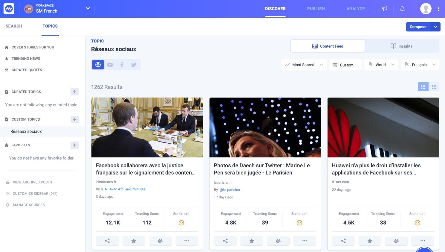 Deux outils alternatifs de gestion des réseaux sociaux
